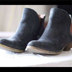 Leather lucky booties